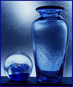 blue glass by Color My World Azul Indigo, Indigo Blue, Cobalt Blue, Cobalt Glass, Cerulean, Im Blue, Love Blue, Blue And White, Image Bleu