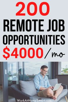 Looking for the best work from home jobs to earn extra money? If yes, grab this list of companies with remote jobs for beginners and pros. Work From Home Companies, Work From Home Jobs, Online Job Opportunities, Customer Service Jobs, Companies Hiring, Job Website, Virtual Assistant Jobs, Craft Online, Online Tutoring