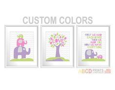 Nursery art prints First we had each other then we by MiraDoson