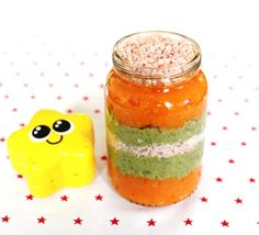 receta para bebes Dúo de verduras y jamón