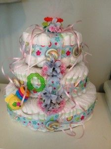 Baby Shower Diaper Cake | HaveDeals Blog and Coupon Codes