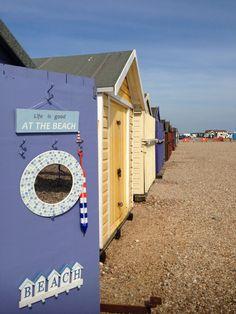 Hayling Island beach huts British Beaches, Uk Beaches, British Seaside, British Isles, Places To Travel, Places To Visit, Beach Huts, Island Beach, English Countryside