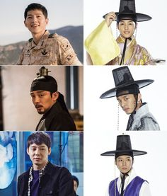 Song Joong-ki, Yoo Ah-in and Park Yoo-chun, the 'Sungkyunkwan descendants'