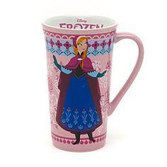 Genieße ein wärmendes heißes Getränk aus diesem fantastischen Anna Becher aus Die Eiskönigin völlig unverfroren. Die furchtlose, gutherzige Heldin ist ...