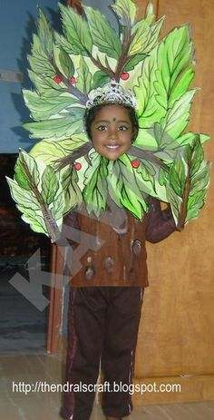 ... day in my daughter s school this tree costume is for the fancy