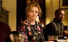 Wholly convincing: Emily Watson as Dr Yvonne Carmichael in 'Apple Tree Yard' Apple Tree Yard, Emily Watson, New Look, Piercing, Drama, Punk, Mom, Hair, Actresses