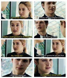 Caleb you nose. ~Divergent~ ~Insurgent~ ~Allegiant~