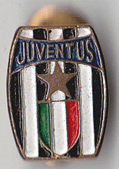 DISTINTIVO PIN SPILLA CALCIO JUVENTUS FC MAFIOR verniciato piedino
