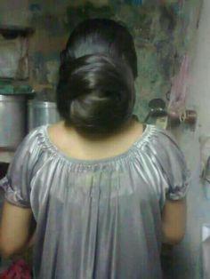 Indian Long Hair Braid, Long Hair Ponytail, Bun Hairstyles For Long Hair, Braids For Long Hair, Beautiful Buns, Beautiful Braids, Beautiful Long Hair, Gorgeous Hair, Amazing Hair
