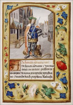 Afbeeldingsresultaat voor medieval manuscript initials