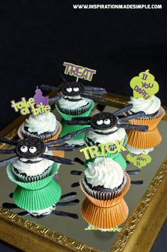 Halloween Cupcake To