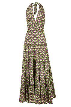 Green Flamenco Maxi Dress by Charlotte's Web | Charlotte's Web