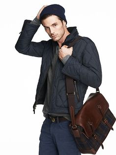 Love the bag!  Modern Dapper