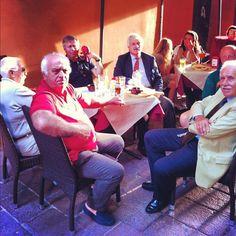 """""""Spideruccio e i bellissimi vecchietti del bar! #igersitalia_swspidermantour"""" #amazingspiderman"""