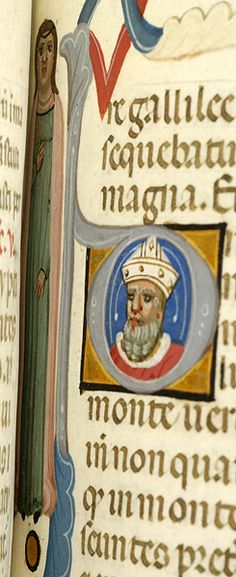 Breviary, MS M.0373 fol. 154r - Images from Medieval and Renaissance Manuscripts - The Morgan Library & Museum