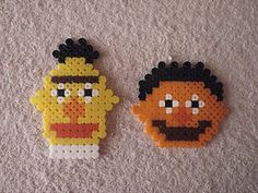 Bert and Ernie Sesame Street - hama beads