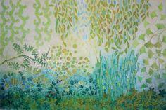 """Saatchi Art Artist Sandrine Pelissier; Painting, """"Luxuriance II"""" #art"""