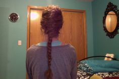 FINALLY. I can French braid my curly hair and have it look pretty good!