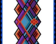 BP-FLO-120 2016 092 Royal Lace Brick Stitch by TrinityDJ