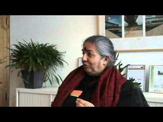 """Vandana Shiva - Decolonize the Mind[…] 75% of the food comes from small farms, those who use 25% of the land & 25% food comes from those who use 75% of the land. If those who only providing 25% food using 75% of the land control 100% of the land, they will bring the foodsupply to 33%, which means all of the planet is destroyed. It is the monoculture of the mind which prevents to see the diversity. It is only organic, biodiverse & small which will feed the world."""