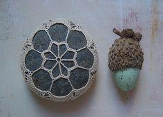 Crocheted Stones - Etsy