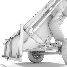 3d model utility trailer Trailer Tent, Trailer Diy, Trailer Tires, Small Trailer, Trailer Plans, Trailer Build, Best Trailers, Dump Trailers, Cargo Trailers