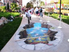 Absolutely Stunning 3D Optical Illusion Street Art That you must see