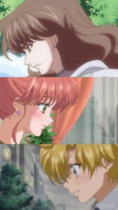Nephrite & Makoto (Sailor Jupiter) & Asanuma (Sailor Moon Crystal)