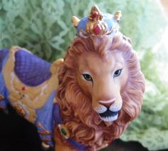 1990 Lenox Carousel Regal Lion Collectible by ChinaGalore on Etsy, $130.00
