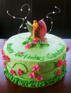 tinkerbell cakes | Tinkerbell Cake - by DeliciousDeliveries @ CakesDecor.com - cake ...