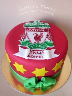 Liverpool FC Birthday Cake please?!