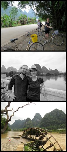 Day 141: Scenic bike ride through Yangshuo with views of the Yulong River.  (photos by John Kopp…thank you John for letting me share your wonderful Kopparazzi documentation!)