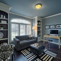 Home Office wall color ideas Design Ideas, Pictures, Remodel and Decor