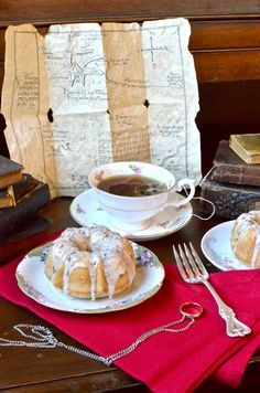 Bilbo's Seed Cakes...can't wait to try out the recipe! Plus I love Yammie's writing style...she is hilarious!