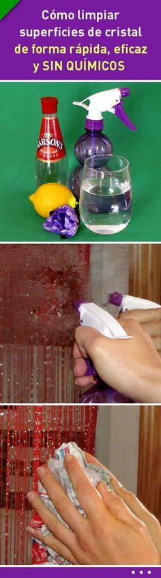 Un truco para limpiar superficies de cristal de forma rápida, eficaz y SIN QUÍMICOS #limpieza #limpiador #cristal #espejo #ventana #diy #ecológico