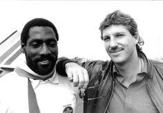 Viv Richards and Ian Botham