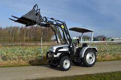 Eurotrac F25 smalspoor tractor met frontlader NIEUW - Tractoren - Occasions - Advertenties - Bosmans handelsonderneming