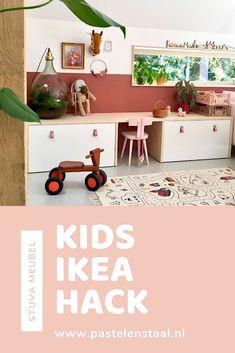 Baby Bedroom, Girls Bedroom, Ikea Hack Kids, Ideas Habitaciones, Diy Kids Furniture, Girl Bedroom Designs, Toy Rooms, Kids Corner, Baby Kind
