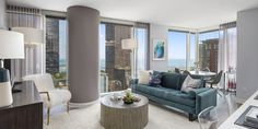Moment offers luxury and convenience in their well designed studio, 1, 2 & 3 bedroom floorplans in Chicago's Streeterville neighborhood.