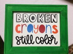 Broken crayons still color canvas sign – Borden Creations Christmas Tree Canvas, Fresh Cut Christmas Trees, Canvas Signs, Canvas Frame, 16x20 Picture Frame, Overcome Evil With Good, Broken Crayons Still Color, Carved Wood Signs, Peace Of God