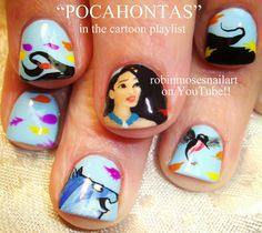 50'S Nails | nail art design cookie monster baby nails oscar the grouch nails nail ...