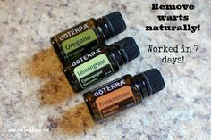 Natural, Effective Wart Removal rotating treatment over 2 weeks  http://mydoterra.com/melindasanders1