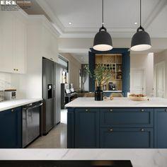 Biệt thự Đà Lạt 400m2 với nội thất Tân Cổ Điển - EKE INTERIOR Ceiling Lights, Kitchen, Projects, Home Decor, Cooking, Log Projects, Homemade Home Decor, Decoration Home, Room Decor