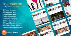 Benefactor Nonprofit Multipurpose WordPress Theme