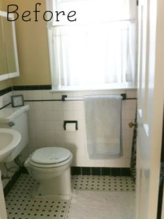 Black And White Retro Bathrooms amazing black and white tile bathroom part 8 black and white