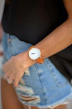 shorts & watch