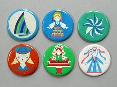 Old Estonian pins.