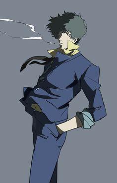 Fanart Manga, Manga Anime, Anime Art, Cowboy Bepop, Avatar, Western Anime, Character Art, Character Design, See You Space Cowboy