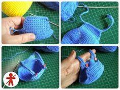 Amigurumi Crochet Pattern Purse Minion Crochet Purse Pattern Easy Crochet Amigurumi Patterns For Beginners Crochet Patterns Amigurumi Purse Minion Crochet Patterns, Crochet Flower Patterns, Crochet Patterns For Beginners, Knitting For Beginners, Amigurumi Patterns, Crochet Purses, Crochet Dolls, Minions Amigurumi, Free Crochet