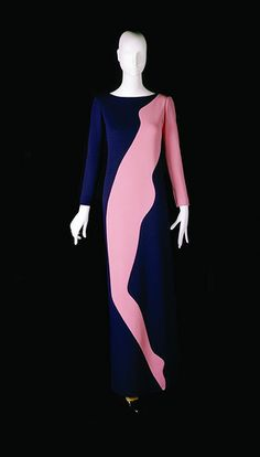 Tribute to Tom Wesselmann. Yves Saint Laurent, 1966
